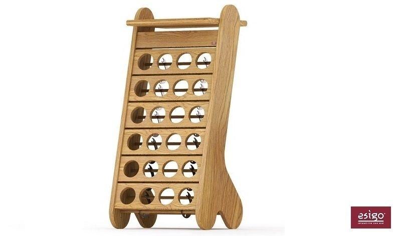Esigo 1 Classic wooden wine rack