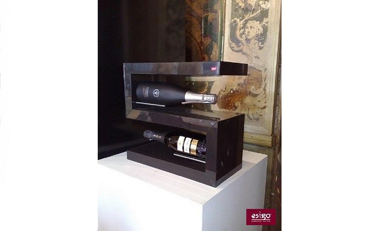 Esigo 12 tabletop wine bottles holder