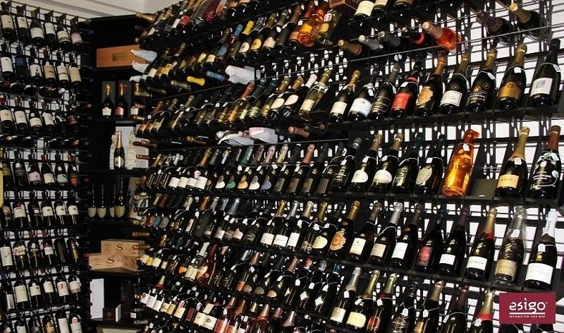 Esigo 2 Net commercial wine rack