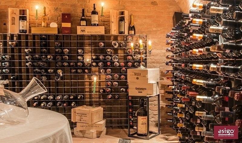 Esigo 2 Net wine rack design