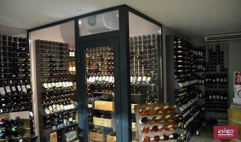 Esigo 2 Net steel wine rack