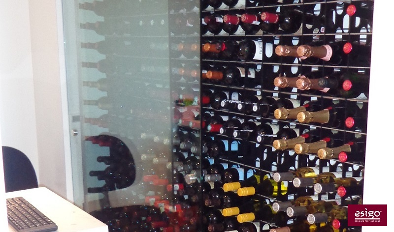 Esigo 2 Net metal wine rack