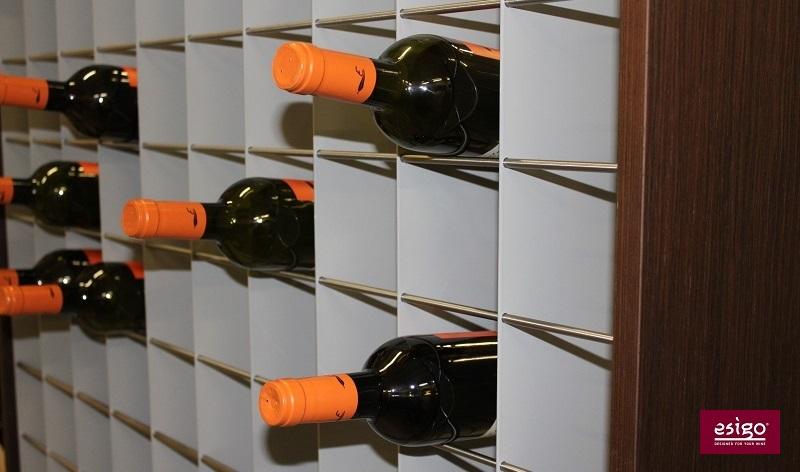 Esigo 2 Wall wine storage closet
