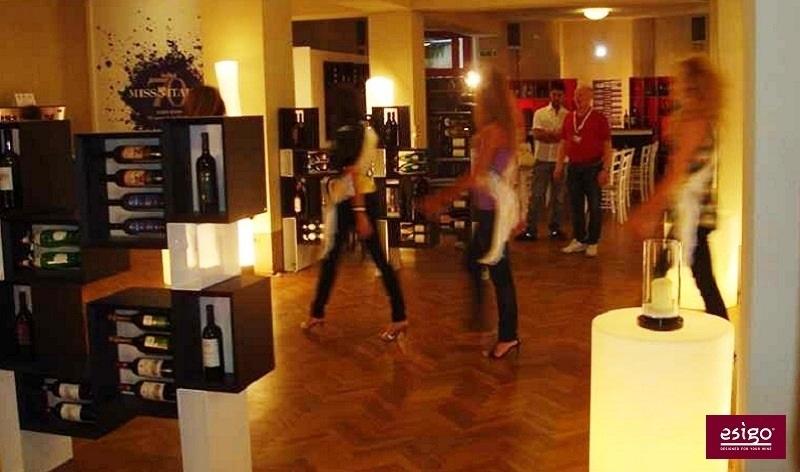 Esigo 5 Floor wooden wine storage rack