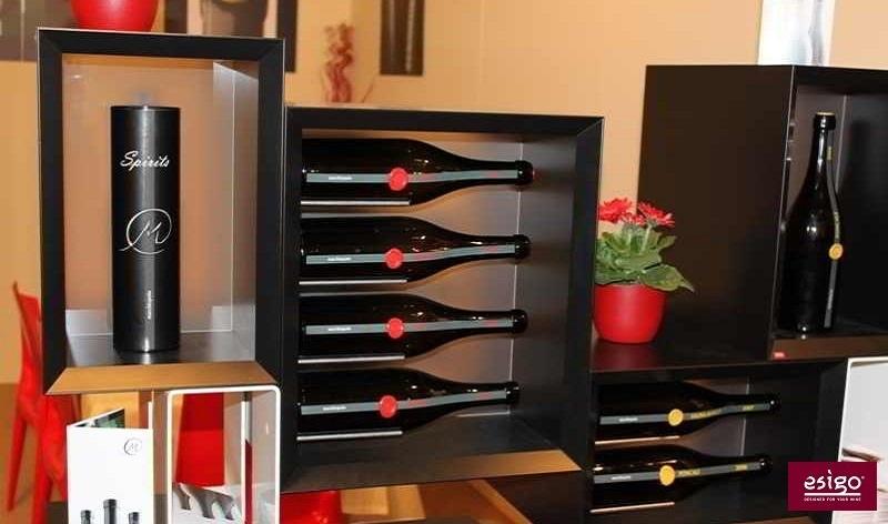Esigo 5 Floor wine rack system