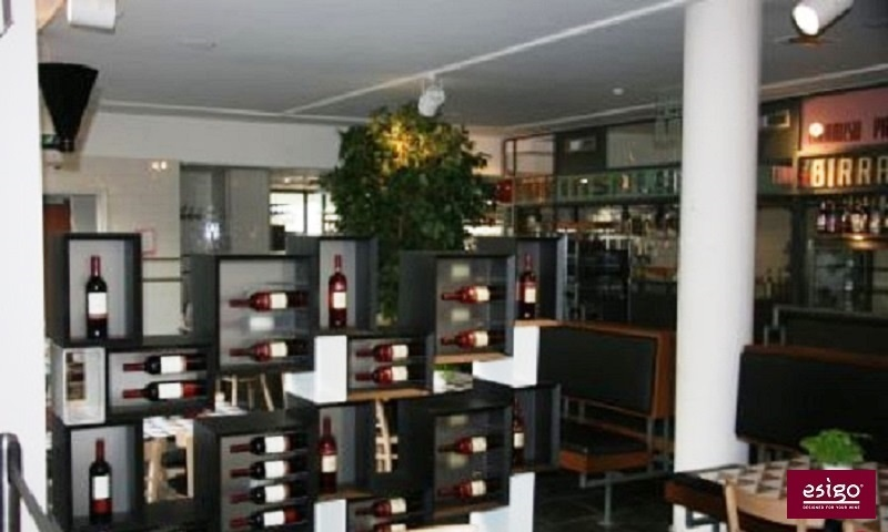 Esigo 5 Floor contemporary design wine rack
