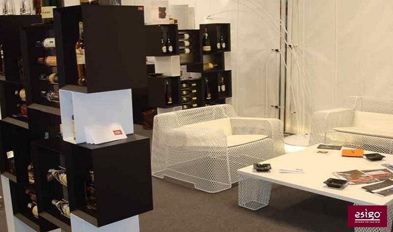 Esigo 5 Floor wine rack cabinet