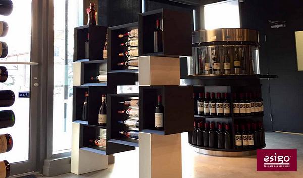 de diseño esigo 5 floor mobiliario para vinoteca emilia romagna