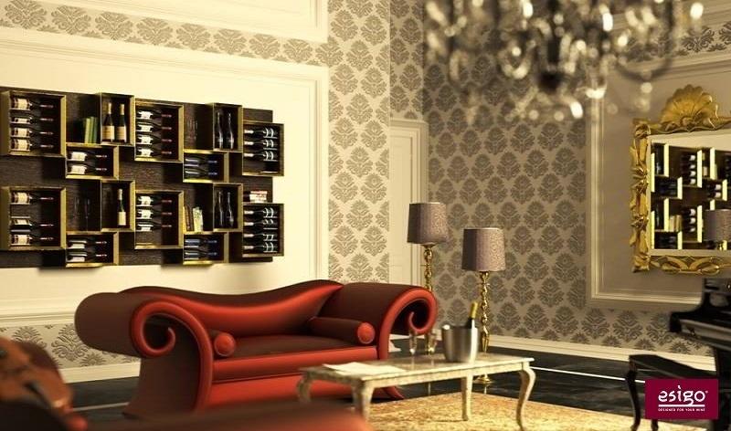 Esigo 5 wine rack design