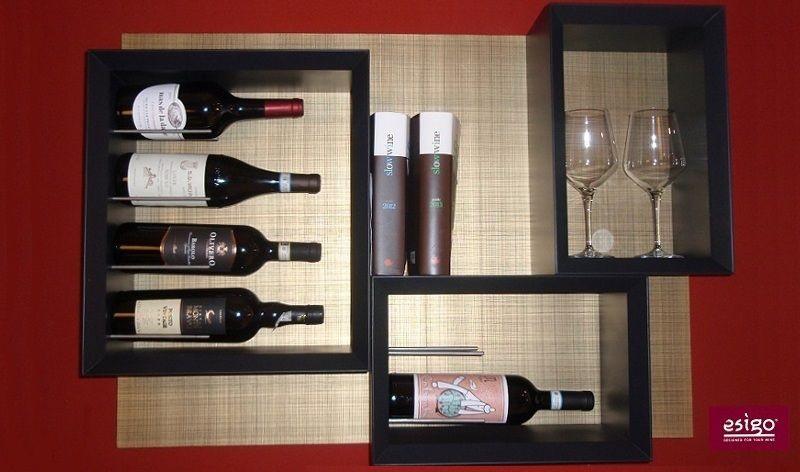Esigo 5 ESPerience by Sanpatrignano design wine rack