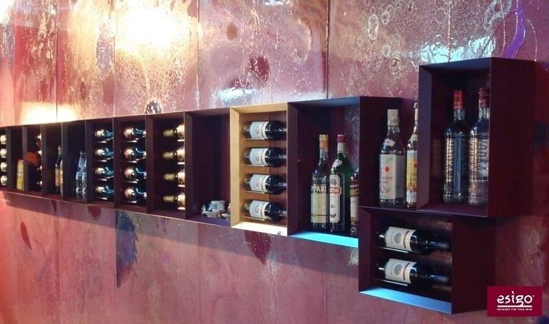 Esigo 5 modern wine rack