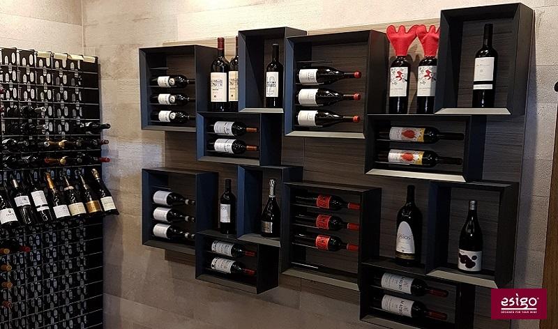 Esigo 5 modern design wine rack