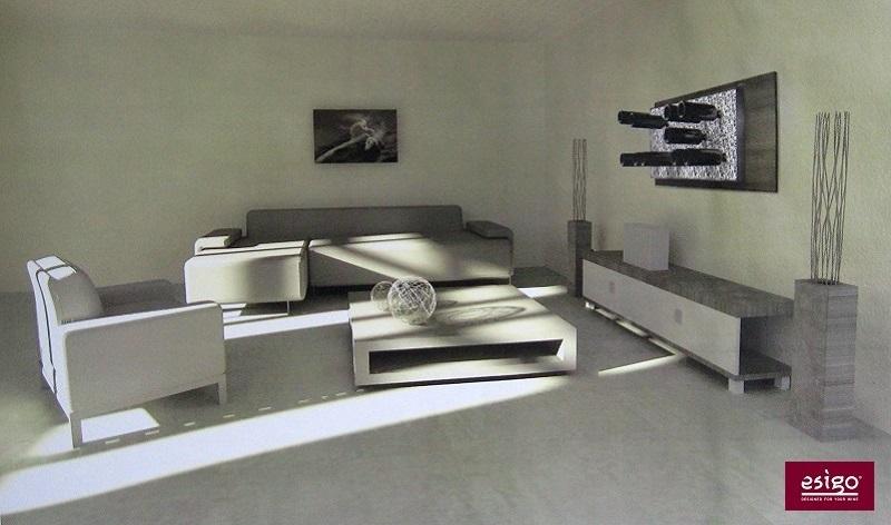 weinregal wohnzimmer weinregale und andere kchenmbel von. Black Bedroom Furniture Sets. Home Design Ideas
