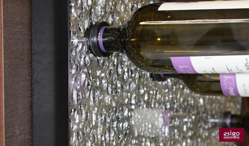 Esigo 6 modern designer wine rack