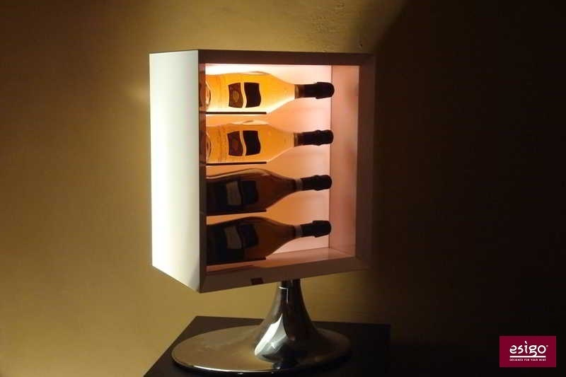 Esigo 7 modern wine rack