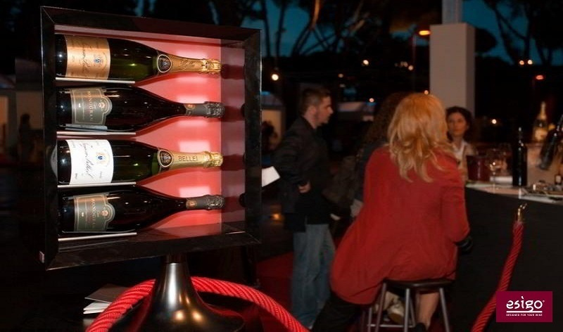 Esigo 7 countertop wine rack
