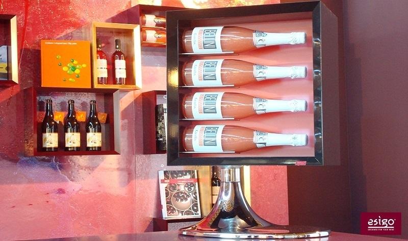 Esigo 7 tabletop wine bottles holder