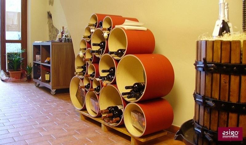 Esigo 8 design wine rack