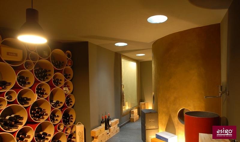 Esigo 8 eco-friendly recycled cardboard wine rack