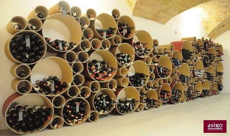 Esigo 8 designer wine rack