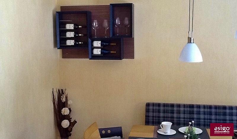 Esigo 5 design wine rack for individuals