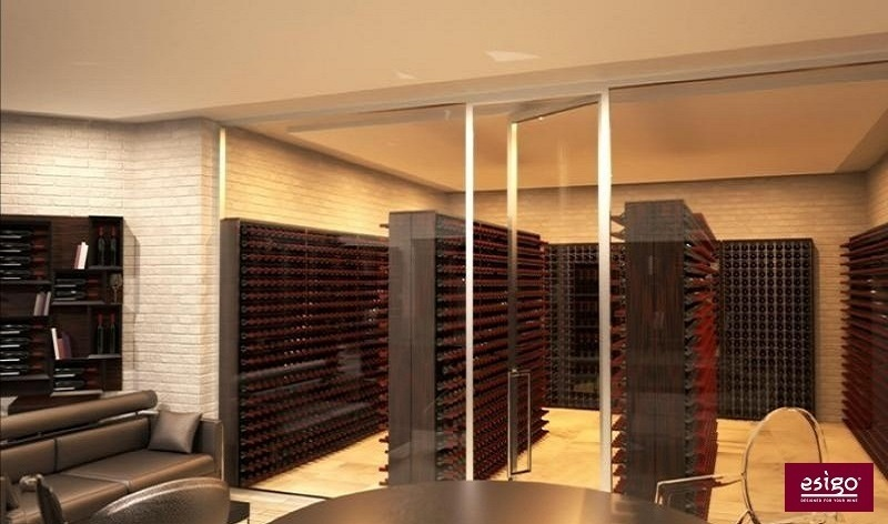 Esigo 2 Wall wine cabinet
