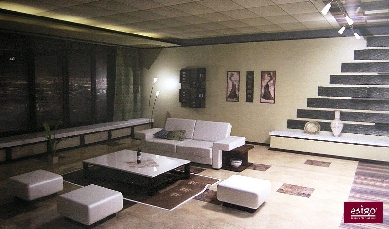 Esigo wine rack for living-room furniture