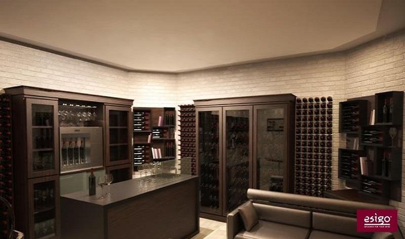 Esigo wine room furniture