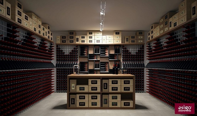gallery wine cellar furniture esigo. Black Bedroom Furniture Sets. Home Design Ideas