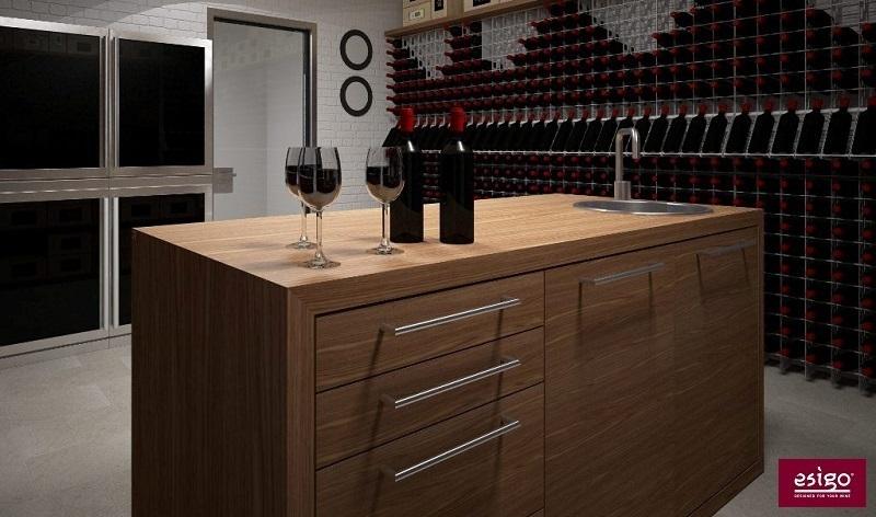 Esigo wine cellar design