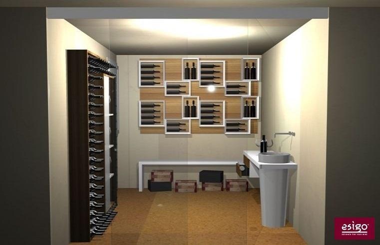 Weinkeller einrichten modern  Gallery Esigo