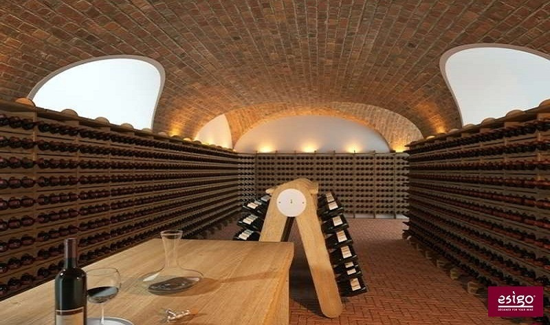 Esigo classic wine cellar furniture
