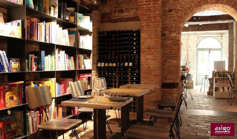 Esigo wine shop furniture