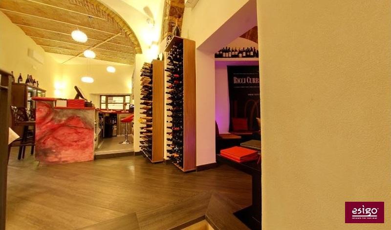 Esigo contemporary design wine shop furniture