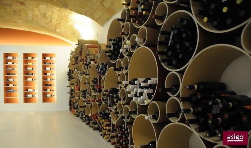 Design wine storage furniture Esigo