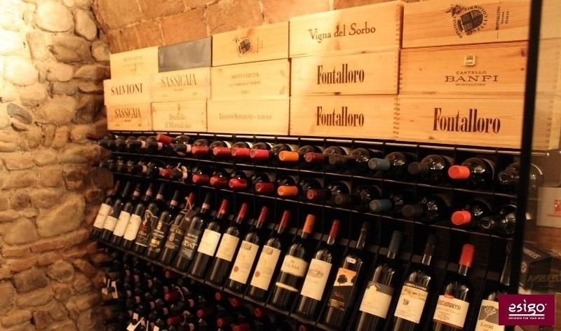 Esigo design wine storage system