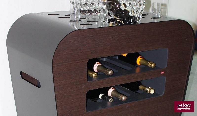 Esigo's wine service trolley