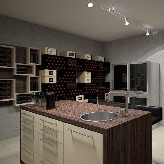 Esigo - Wine cellar furniture