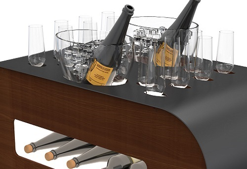 Esigo srl - Wine trolleys and bar carts