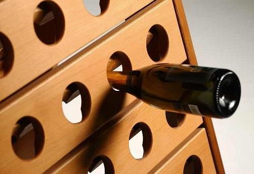 Esigo srl - Champagne wine racks