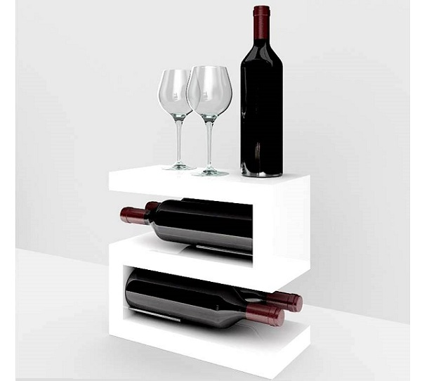 Esigo 12 tabletop wine bottle holder