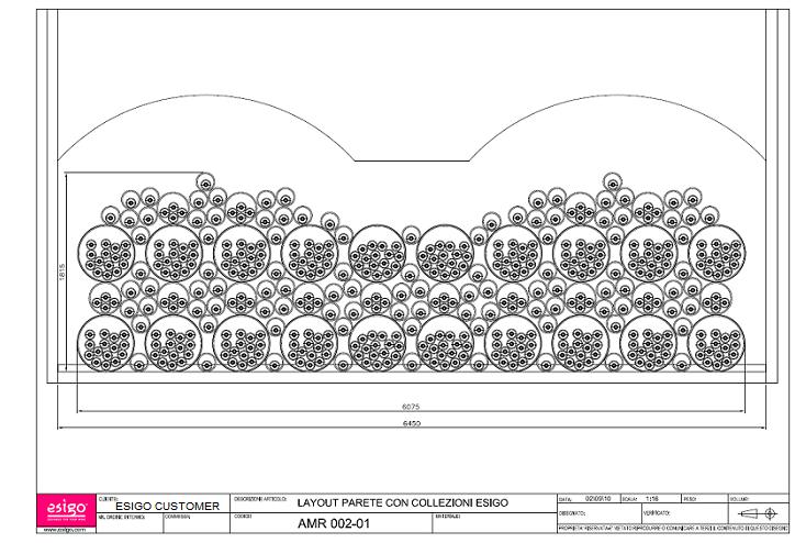 progetto tecnico realizzazione composizione esigo 8