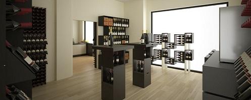 Wine shop furniture Esigo