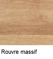 Finition rouvre massif