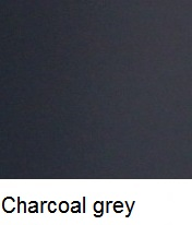 Box charcoal grey finishes