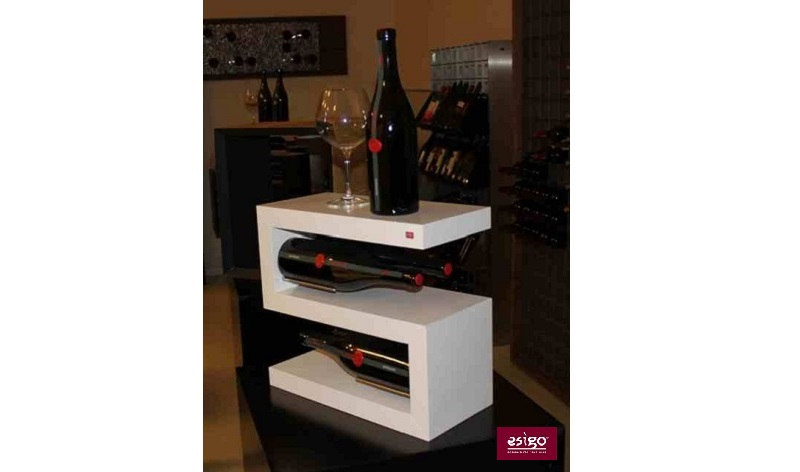 Esigo 12 tabletop wine bottles holder
