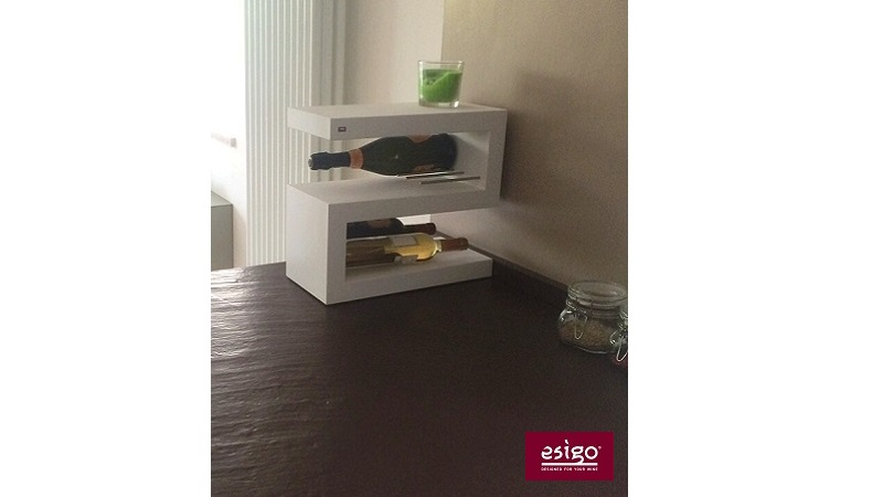 Esigo 12 tabletop wine rack