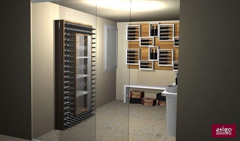 Gallery: Esigo 2 Wall wine cabinet