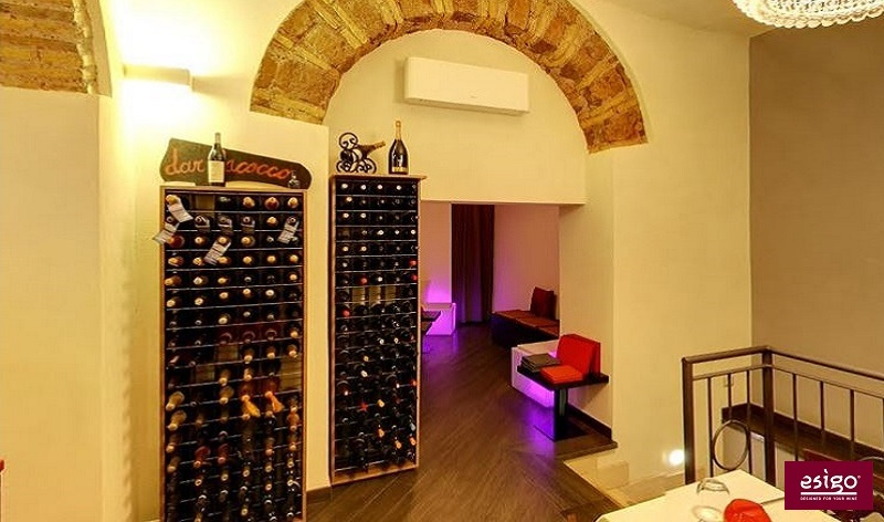 Esigo 2 Wall design wine cabinet