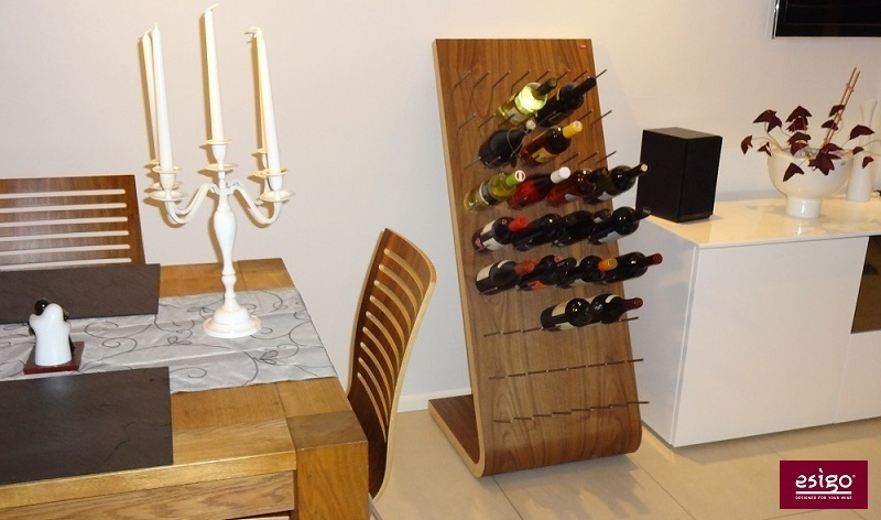 Esigo 4 contemporary design wine rack